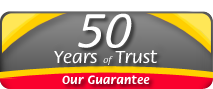 50 Years of Trust. Our Guarantee