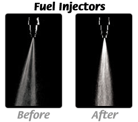 Fuel Injectors Before and After